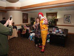 Cynthia Andrachick w/ Ronald McDonald