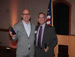 Company Person of the Year 2017 Tim Burnett (Burns & Wilcox) President Fred Weston